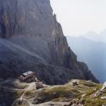 Italia  Trentino  Pale di S.Martino  Rifugio Pradidali